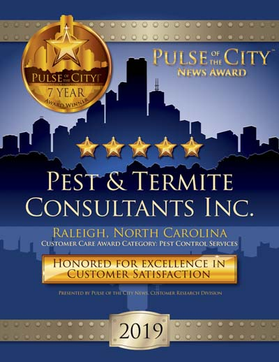 Pest & Termite Consultants Inc. wins 2019 Pulse Award
