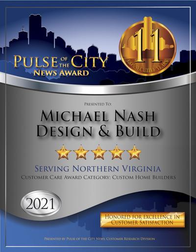 Michael Nash Design & Build wins 2021 Pulse Award